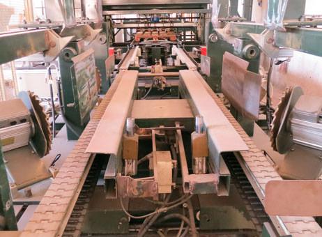 Linie do produkcji palet o wydajności powyżej 1500 palet / zmianę firmy OLIMPIA.