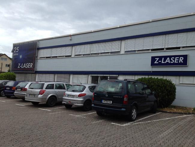 Szkolenie w firmie Z-Laser, Freiburg