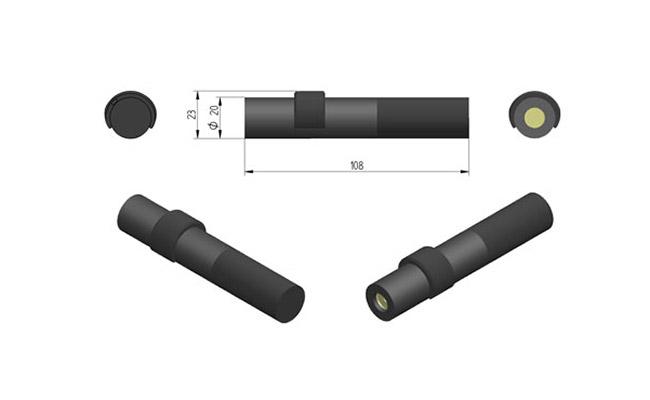 Wskaźniki laserowe dla przemysłu drzewnego typu ZA