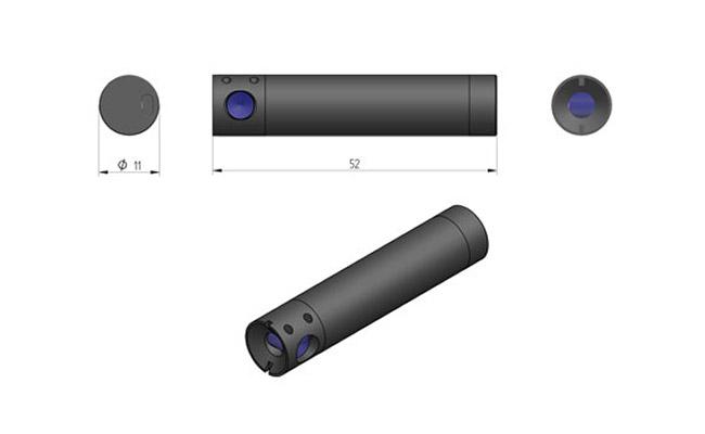 Wskaźniki laserowe dla przemysłu drzewnego typu ZD