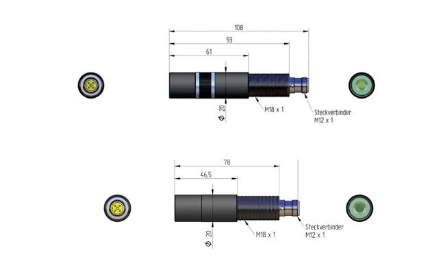 Wskaźniki laserowe dla przemysłu drzewnego typu ZM18