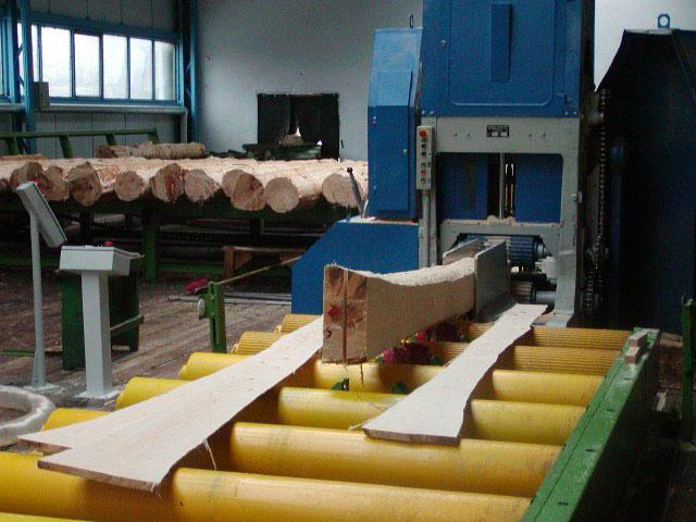 Technologie przerobu drewna